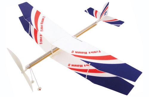 ZT Model Fight Hawk FF Biplane