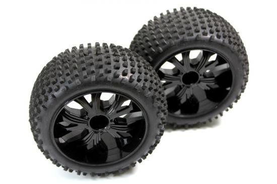 Absima Tire Set f/r (2) Truggys.)