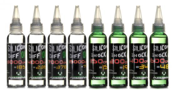 Absima Silicone Shock Oil 250cps 60 ml