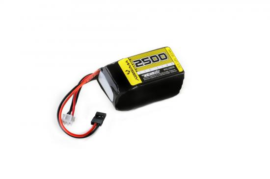 Absima RX Lipo Hump 2S 7 - 4V. 2500 SC (UNI-Plug)