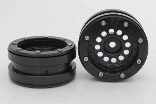 Metsafil Beadlock Wheels PT-Bullet Black/Black 1.9 (2 pcs)?