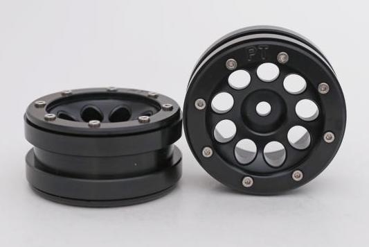 Metsafil Beadlock Wheels PT-Ecohole Black/Black 1.9 (2 pcs)?