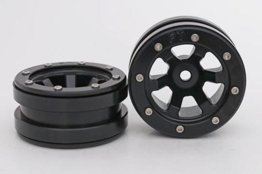 Metsafil Beadlock Wheels PT-Claw Black/Black 1.9 (2 pcs)?