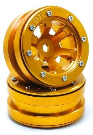 Metsafil Beadlock Wheels PT-Claw Gold/Gold 1.9 (2 pcs)