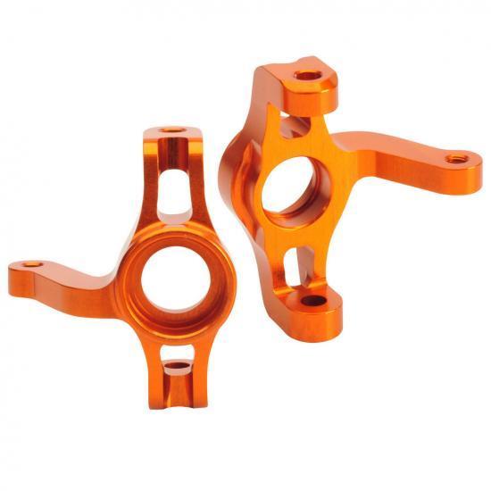 Absima Aluminum Steering Block (2) orange TM4 Comp. Buggy