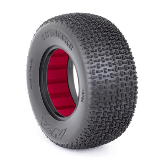 AKA Short Course Tyres 1/10 City Block 3 Large Soft (2) With Inserts