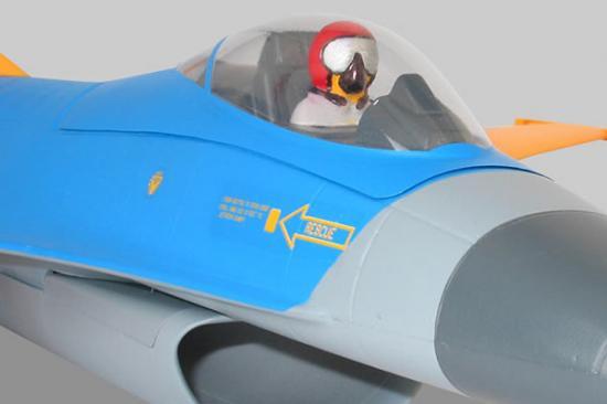 Alfa Model F-16C Canopy (0106)