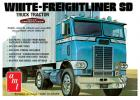 AMT 1:25 White Freightliner Single Drive Tractor