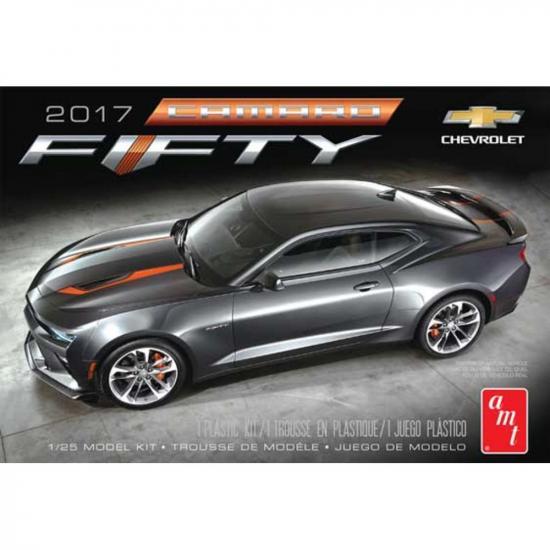 AMT 1:25 2017 Chevy Camaro 50th Anniversary