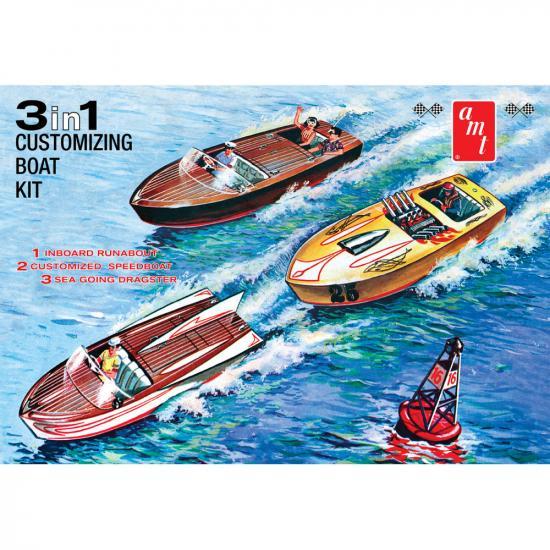 AMT Customizing Boat (3-in-1)