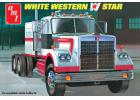 AMT 1:25 White Western Star Semi Tractor