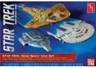 AMT 1:2500 Star Trek Cadet Series Deep Space 9 - 3 ship set SNAP