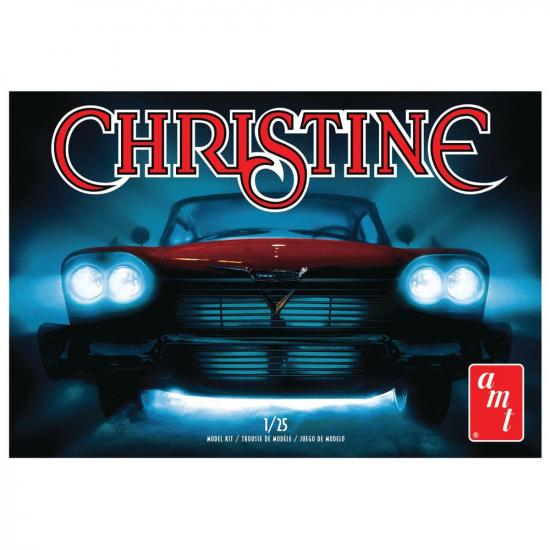 AMT 1:25 Christine -- 1958 Plymouth Belvedere-Red