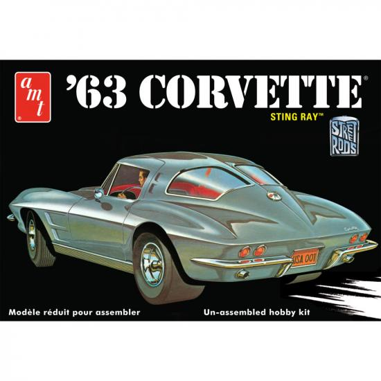 AMT 1:25 1963 Chevy Corvette
