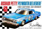 AMT 1:25 Richard Petty 1964 Plymouth Belvedere