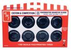 AMT 1:25 M&H Racemasters Jumbo Drag Slicks Tire Pack
