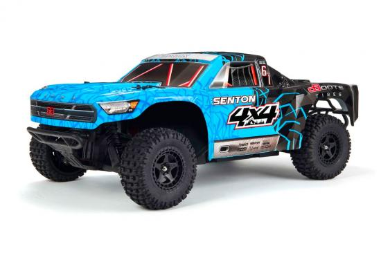 Arrma Senton 1:10 4X4 Mega Brushed - Blue
