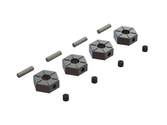 ARAC9473 Wheel Hex Metal 12mm (4)