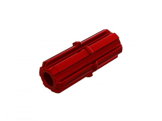ARAC9102 Arrma Slipper Shaft (Red) (1Pc)
