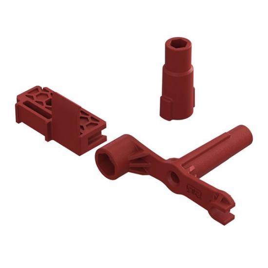 ARAC3722 Arrma Chassis Spine Block + Multi Tool