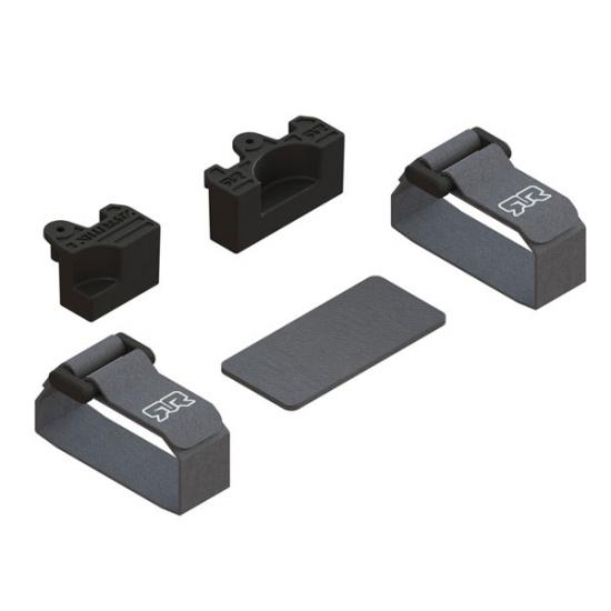 ARAC3109 Arrma Battery Mounting Set