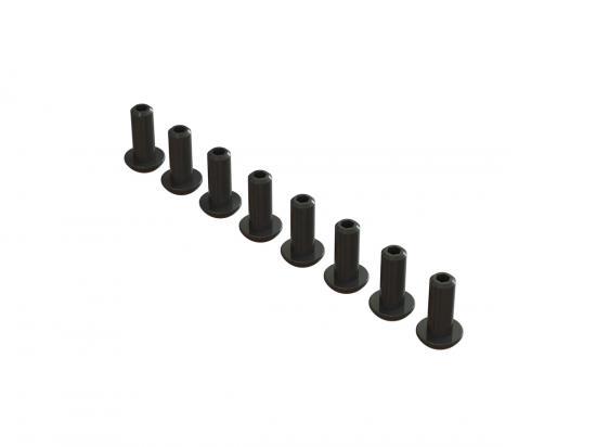 ARAC9870 Double Socket Buttn Head Screw 4x10mm (8)