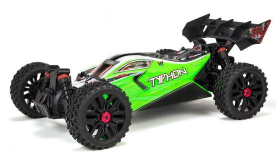 Arrma Typhon 4x4 Mega Brushed - Green