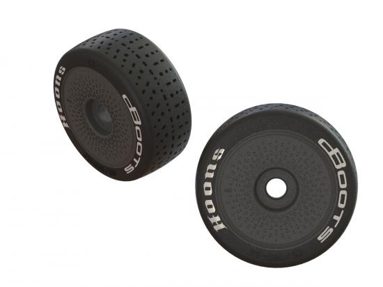 DBoots Hoons 42/100 2.9 Belted Speed Tyres on 17mm Hex Dish Wheels (2)