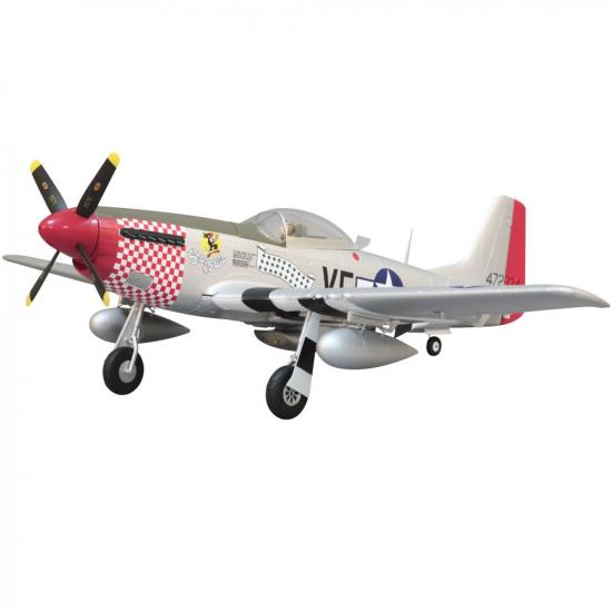 Arrows Hobby P-51 Mustang PNP with Retracts (1100mm)