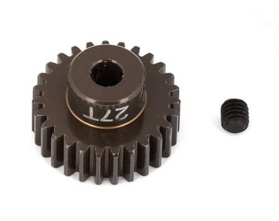 Associated Factory Team Alum. Pinion Gear 27T 48Dp 1/8 Shaft
