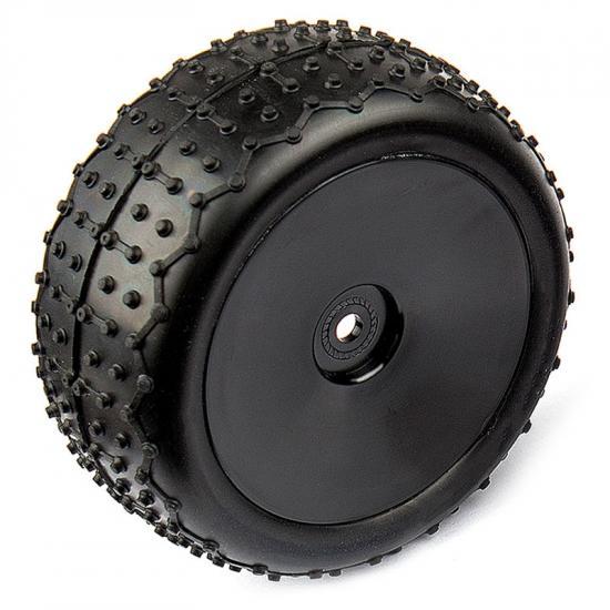 Associated Reflex 14B Narrow Mini Pin Tyres - Mounted
