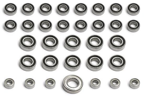 MGT Complete Bearing Set (34 Pcs)