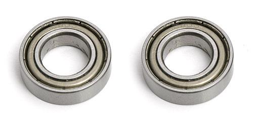10 X 19 X 5 Ball Bearings (2) Steel Shielded