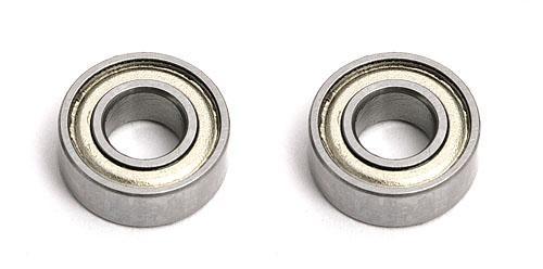 5 X 11 X 4 Ball Bearings (2) Steel Shielded