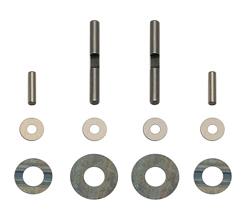 Associated RC10TC6 Gear Diff Pins and Shims