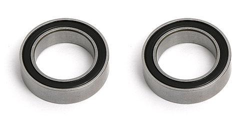 Bearing - 10 X 15 X 4mm Rubber Shielded (2)