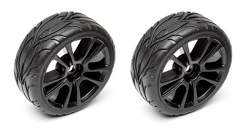 Associated Qualifier Apex 10 Spoke Wheel/Tyre
