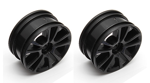 Associated Qualifier Apex 10 Spoke Rim Black