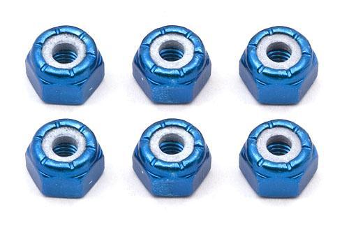 FT 8-32 Blue Aluminum Locknut