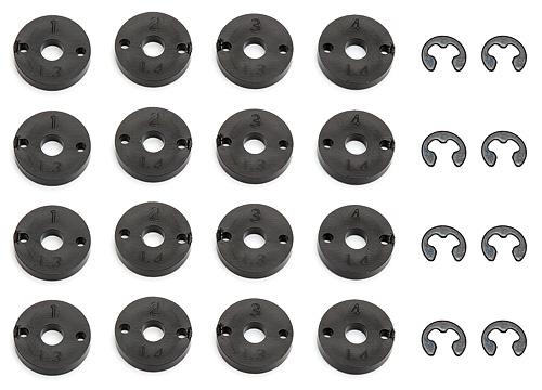 Associated Prolite 4X4 Shock Pistons