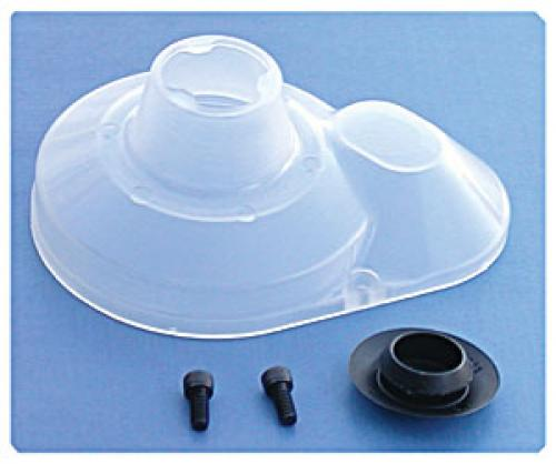 Moulded Gear Cover - clear