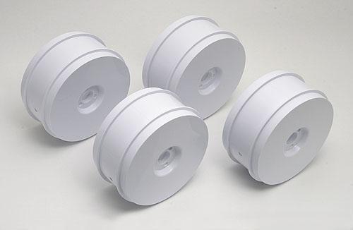 RC8 83mm Wheels - white