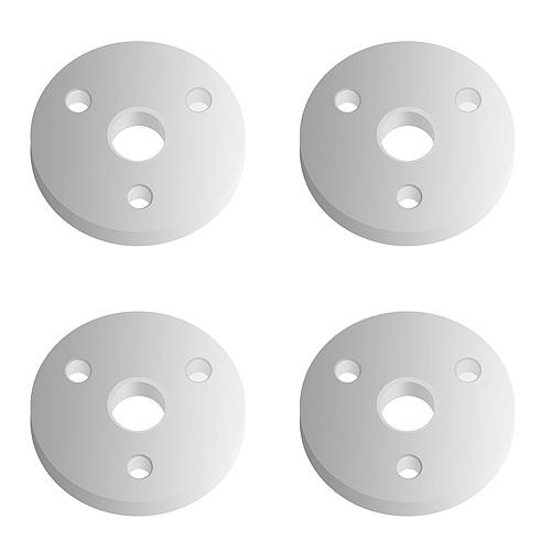 Associated 12mm Big Bore Ft Pistons 3 Hole X 1.4mm (Flat)