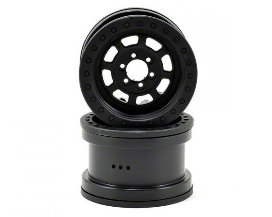 Axial 2.2 Trail Ready HD Series Beadlock w/Slim Ring - IFD Wheels -Black(2pcs)