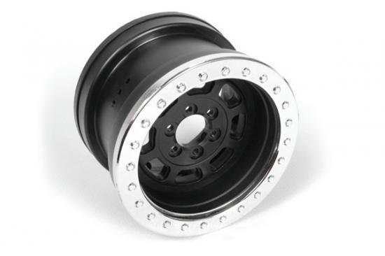 Axial 2.2 Trail Ready HD Series Beadlock w/Slim Ring - IFD Wheels -Chrome/Black(2pcs)
