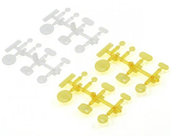 Axial LED Lens Set - Yellow/Clear (4pcs)