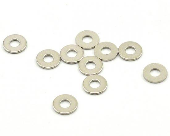 Axial Washer 2.7x6.7x0.5mm - Silver (10pcs)