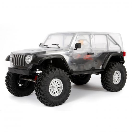 SCX10 III Jeep JL Wrangler 4WD Kit
