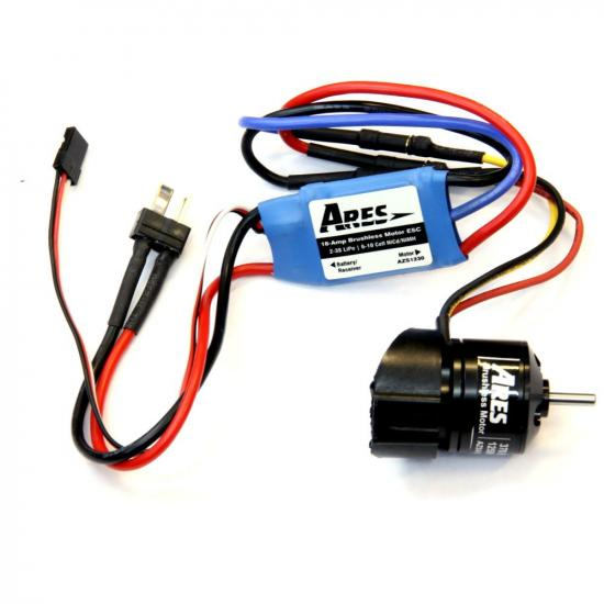 Ares Azs1227 370 Brushless Power Sys.Upgrade Combo