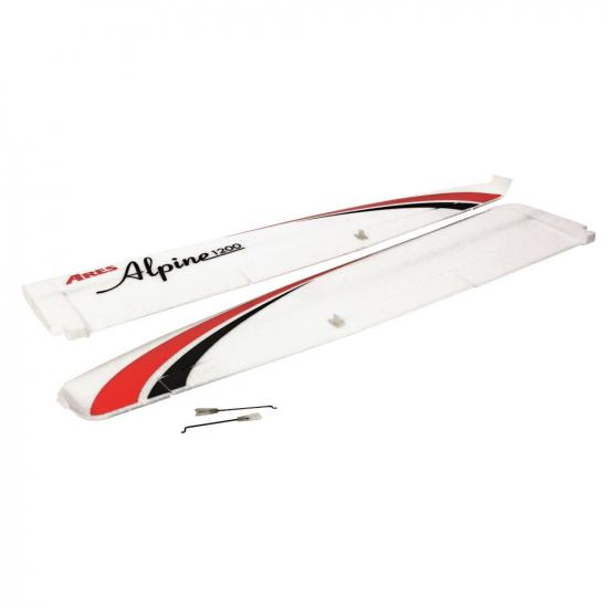 Ares Main Wing and Hardware (Alpine)